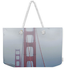 Weekender Tote Bag featuring the photograph Golden State Golden Gate  by Joseph Hollingsworth