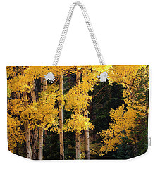 Golden Sun Weekender Tote Bag