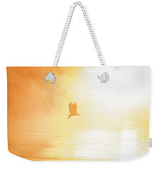 Golden Sunrise And Eagle  2016 Weekender Tote Bag