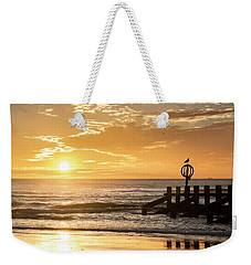 Golden Sunrise At Aberdeen Beach Weekender Tote Bag