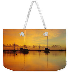 Golden Sunrise At Boreen Point Weekender Tote Bag