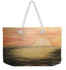 Golden Sunset Weekender Tote Bag by Rachel Hannah