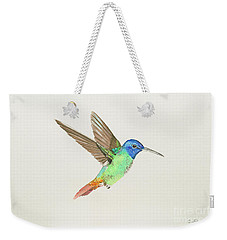 Golden-tailed Sapphire Weekender Tote Bag