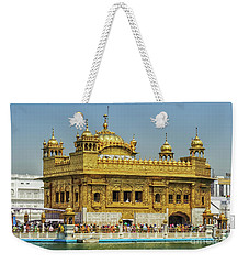 Golden Temple Punjab India With Clear Sky 2 Weekender Tote Bag