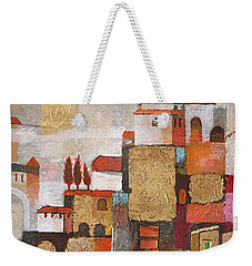 Golden Town Weekender Tote Bag