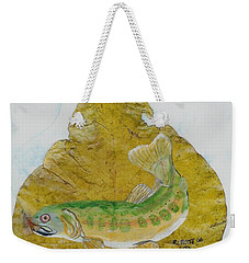 Golden Trout Weekender Tote Bag by Ralph Root