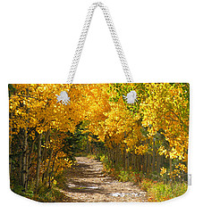 Golden Tunnel Weekender Tote Bag