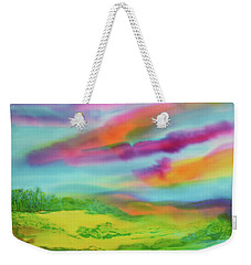 Escape From Reality Weekender Tote Bag by Susan D Moody
