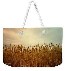 Golden Wheat Weekender Tote Bag