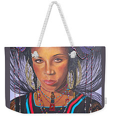 Golden Wodaabe Girl Weekender Tote Bag