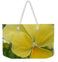 Golden Yellow Flower Weekender Tote Bag