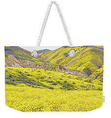 Goldfields And Temblor Hills Weekender Tote Bag