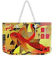 Goldfish #1 Weekender Tote Bag