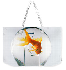 Goldfish In Light Bulb  Weekender Tote Bag