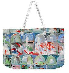 Goldfish Market Weekender Tote Bag