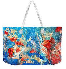 Goldfish Party Weekender Tote Bag