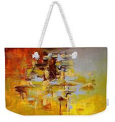Goldmix Weekender Tote Bag