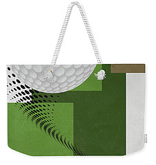 Golf Art Par 4 Weekender Tote Bag