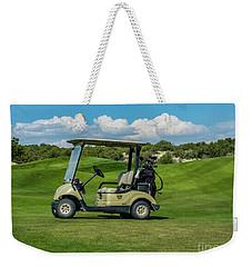 Golf Cart Weekender Tote Bag