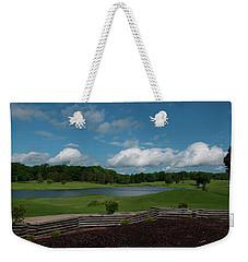 Golf Course The Back 9 Weekender Tote Bag by Chris Flees