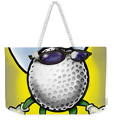 Golf Cowboy Weekender Tote Bag