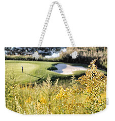 Golf - Green Peace Weekender Tote Bag by Jason Nicholas