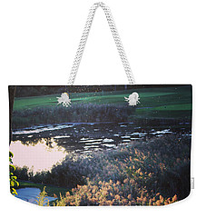 Golf - Green With Envy Weekender Tote Bag by Jason Nicholas