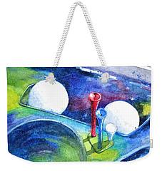 Golf Series - Back Safely Weekender Tote Bag