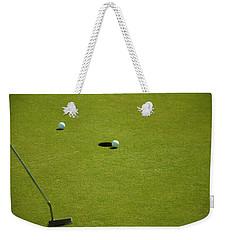 Golf - The Longest Inch Weekender Tote Bag by Chris Flees
