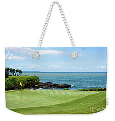 Golf View Weekender Tote Bag