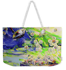 Golfbaelle In Huelle Und Fuelle   Golf Balls Galore Weekender Tote Bag