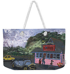 Golicks Ice Cream Weekender Tote Bag