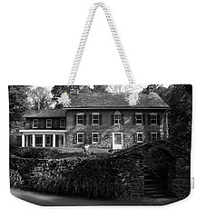 Weekender Tote Bag featuring the photograph Gomez Mill House In Spring by Jeff Severson
