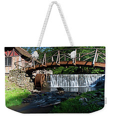 Weekender Tote Bag featuring the photograph Gomez Mill In Spring #2 by Jeff Severson