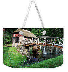 Weekender Tote Bag featuring the photograph Gomez Mill In Summer #1 by Jeff Severson