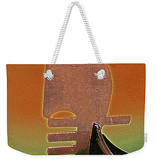 Gondola Modern Abstract Weekender Tote Bag