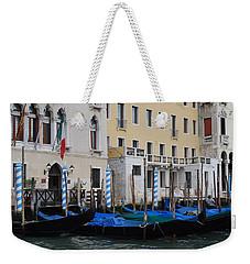 Gondolas At Rest Weekender Tote Bag