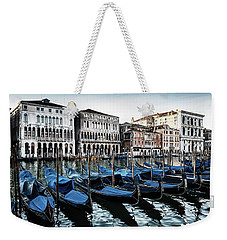Gondolas Weekender Tote Bag