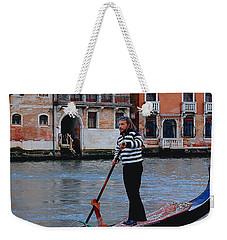 Gondolier Venice Weekender Tote Bag