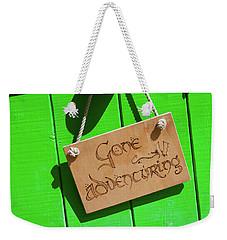 Gone Adventuring Weekender Tote Bag
