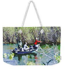 Gone Fishin' Weekender Tote Bag by Kae Cheatham
