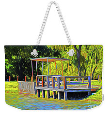 Gone Fishing 18-11 Weekender Tote Bag