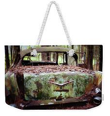 Gone Girl Old Car Image Art Weekender Tote Bag