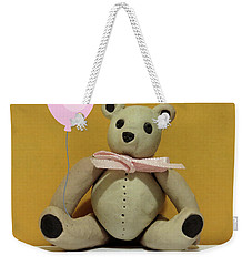 Weekender Tote Bag featuring the photograph Good Bear by Rosalie Scanlon