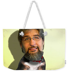 Good Boy Weekender Tote Bag by Mike McGlothlen