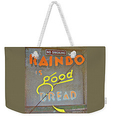 Weekender Tote Bag featuring the photograph Good Bread by Joe Jake Pratt