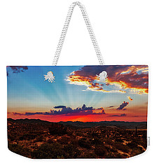 Weekender Tote Bag featuring the photograph Good Evening Arizona by Rick Furmanek