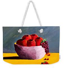 Good Fruit Weekender Tote Bag