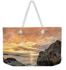 Good Harbor, Rock View Vertical Weekender Tote Bag