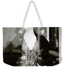 Weekender Tote Bag featuring the photograph Good Look Around by Empty Wall